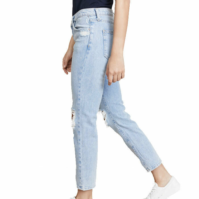 Current/Elliott The Fling in Nova Destroyed Boyfriend Jeans Size 25