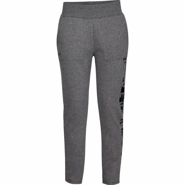 Under Armour Women's UA Rival Gray Fleece Active Sweat Pants Size XL