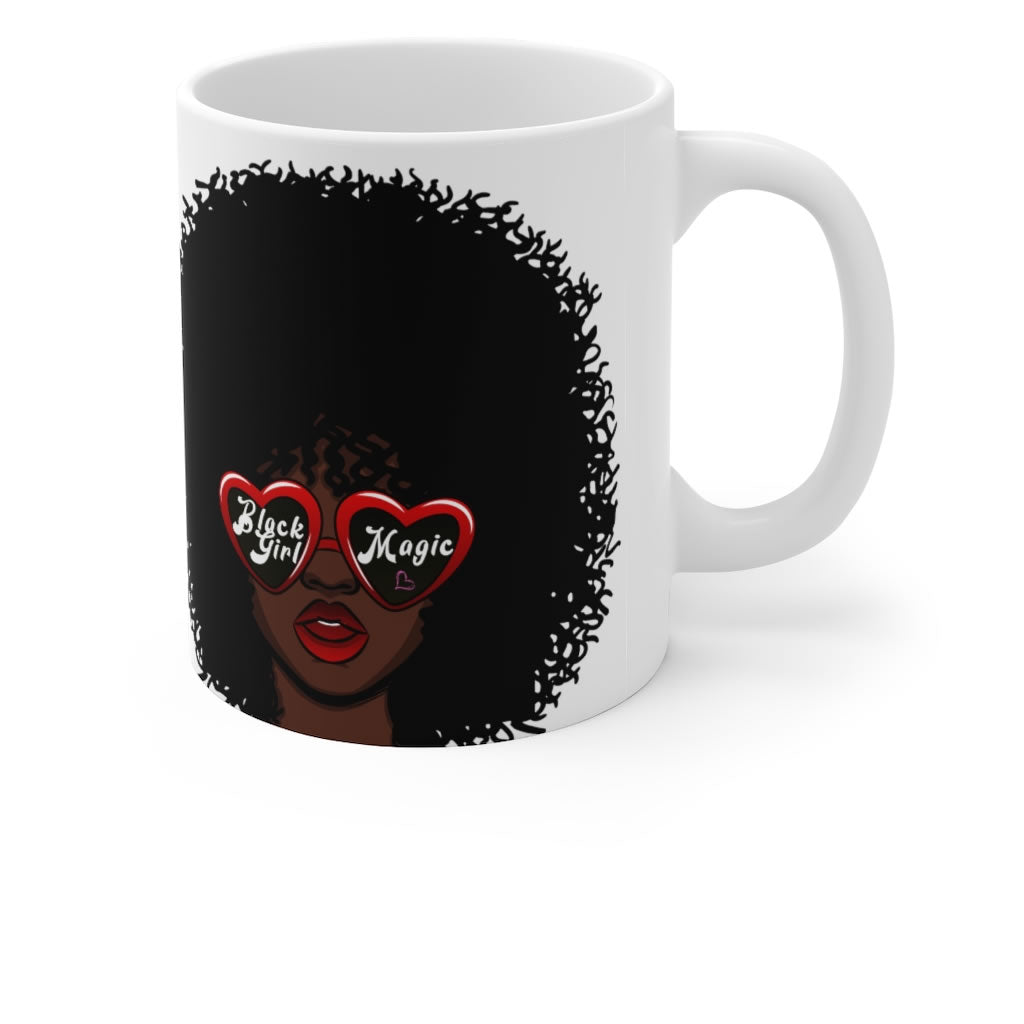 Black Girl Magic Ceramic Coffee Mug 11oz