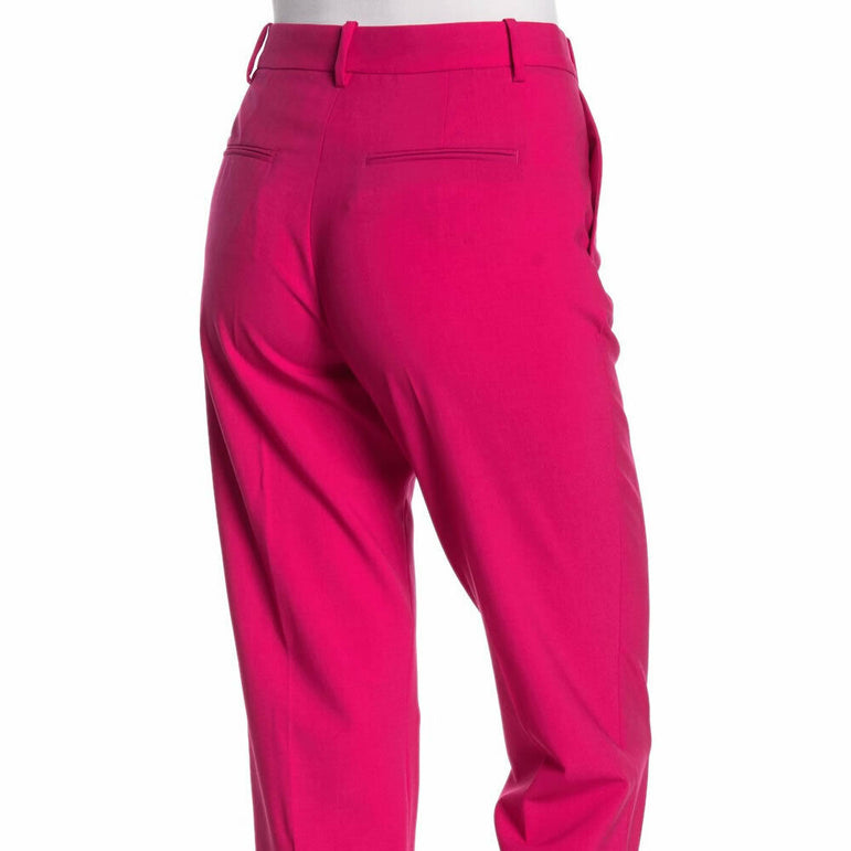 Rag & Bone Bade Wool Blend Pink Trouser Pants Size 4 $395