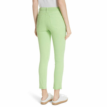 Rag & Bone Lime High Waist Skinny Ankle Denim Jeans Orig $195