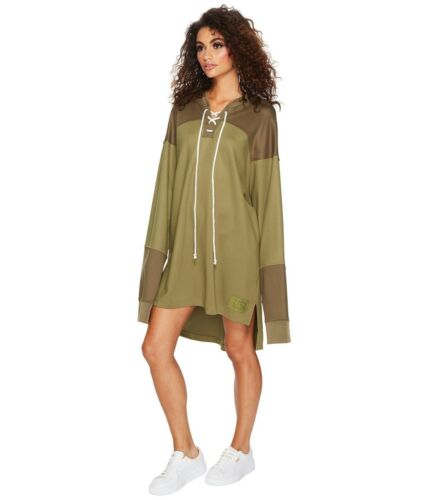 Puma Fenty by Rihanna Collection Oversized Hockey Jersey In Olive Size L NWT