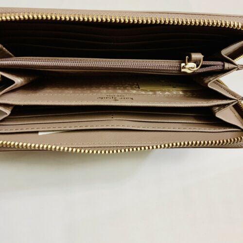 Kate Spade Laurel Way Neda Leather Zip Around Wallet WLRU2669 $189