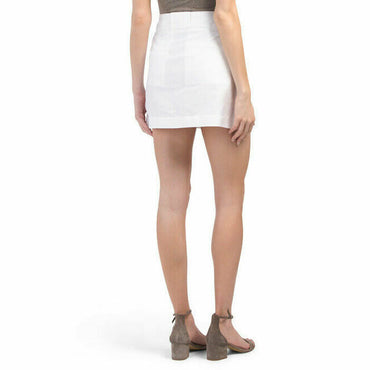 Rag & Bone White Wades Retro Style A-line Mini Skirt, Size 10