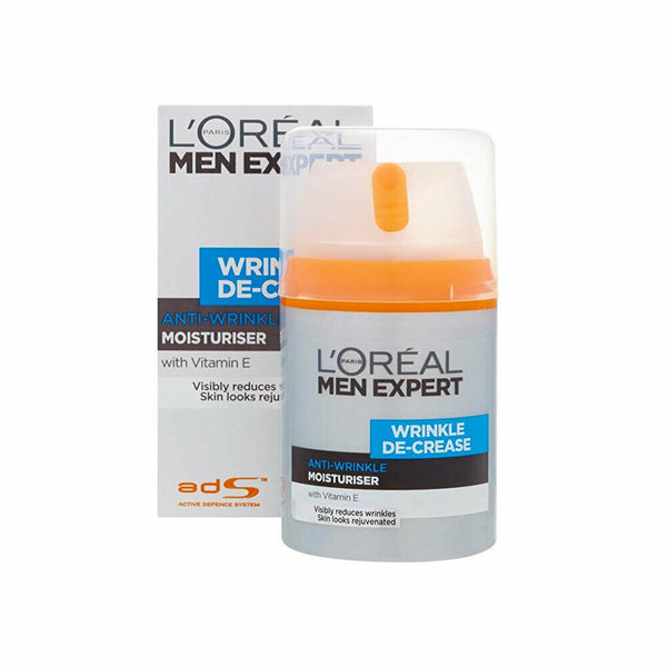 L'Oreal Men Expert Wrinkle De-Crease Anti-Expression Wrinkles 50ml/1.6oz