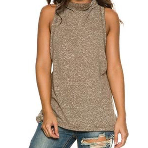 Free People Women's OB554873 Madrid Sleeveless Tunic Tank Top Size S NWT