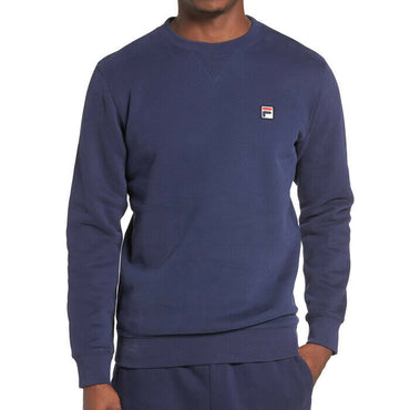 Fila Blue Brixen Crewneck Fleece Active Sweatshirt Size 3XL