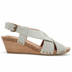 Adam Tucker by Me Too Tarin Wedge Suede Sandal Size 8.5