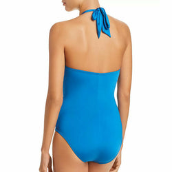 Kenneth Cole Reaction Sexy Solids High Neck One Piece Swimsuit Plus Size 2X