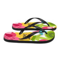 Summer Fresh Fruity Fashion Flip-Flops