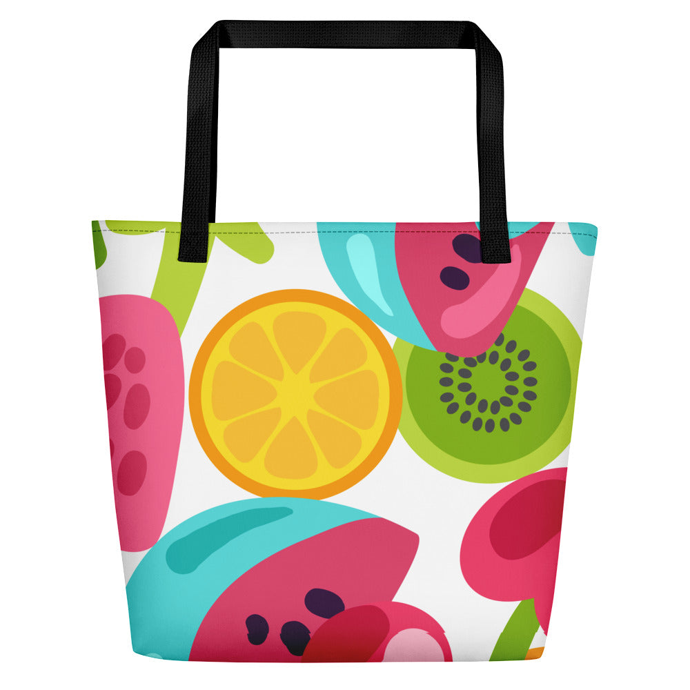 Fruit is in Fashion Summer Beach Tote Bag