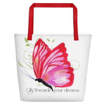 Fly Towards Your Dreams Beach Bag