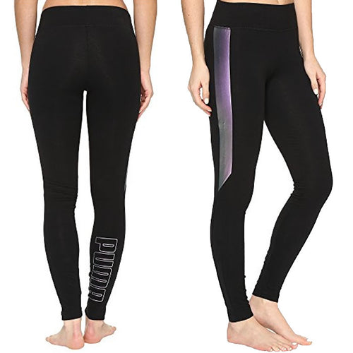 Puma Active Iridescent Print T7 Tights Size XL