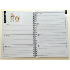 NEW 2021 Slimline Calendar and Diary Bundle