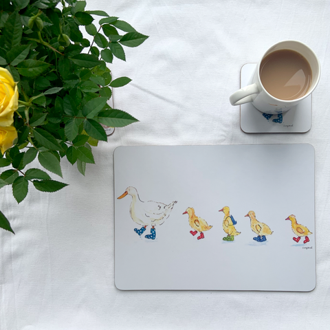 School Run Placemats Pack of 4