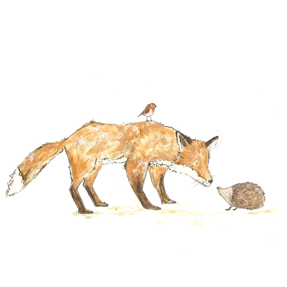 Fox And Friends A4 Prints