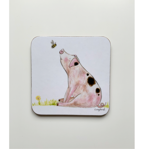 Pig Coasters Pack of 4