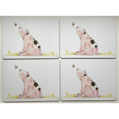 Pig Placemats Pack of 4