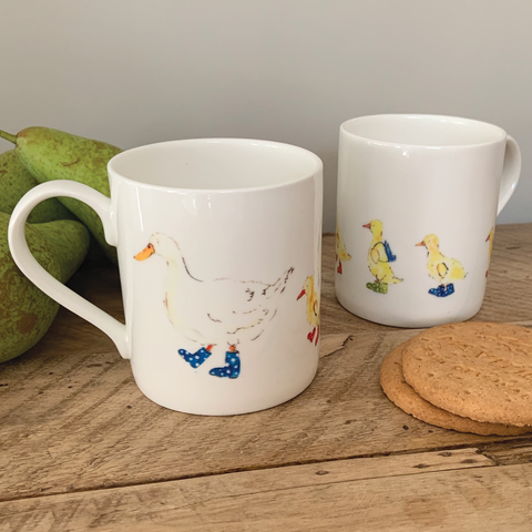 Set of 2 School Run Mugs