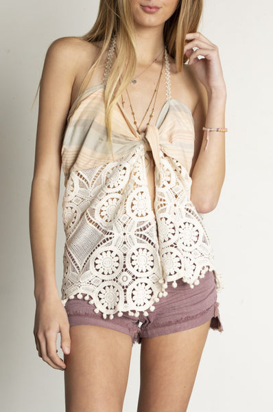 LS Recycled Beach Babe Top