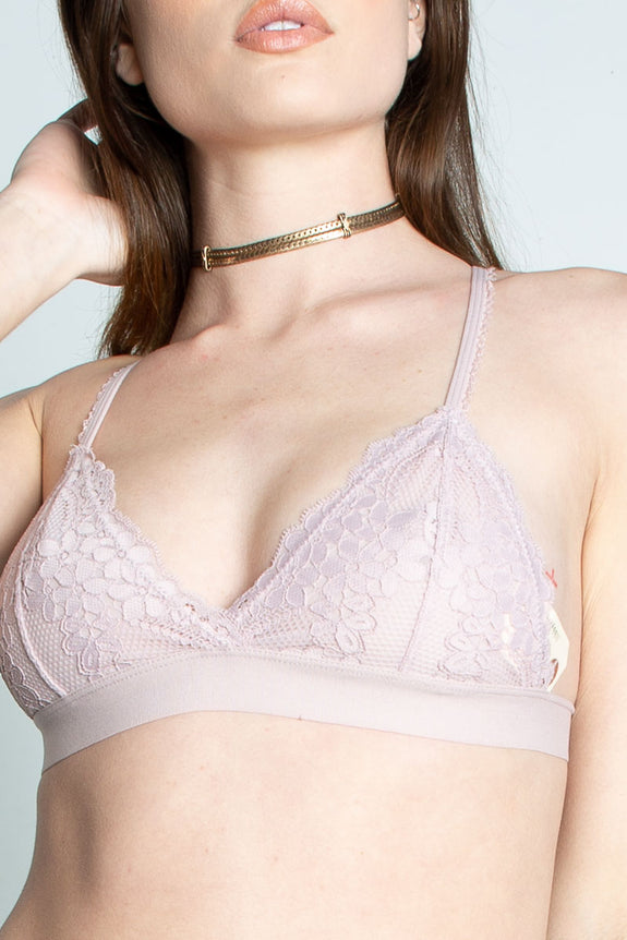 Perfection Lace Triangle Bralette