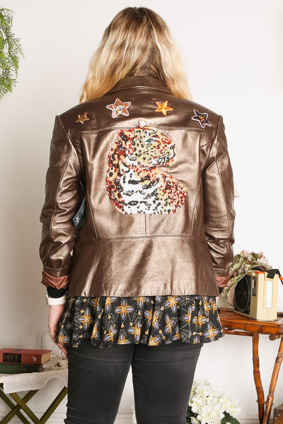 Libby Story Live Free Leather Jacket