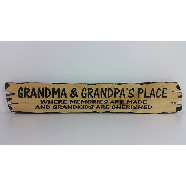 Wooden Grandma & Grandpas Place - Small