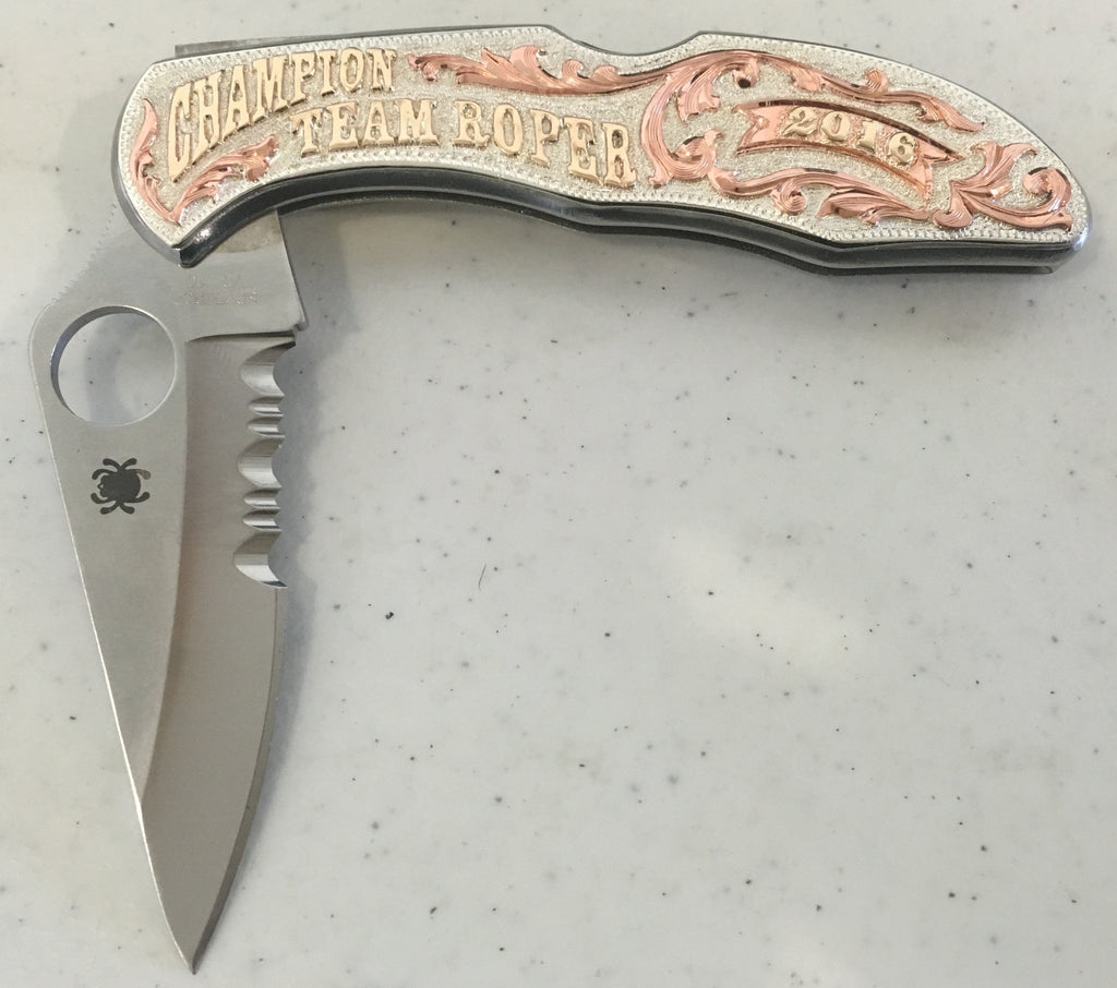 CSK 100 Spiderco Knife