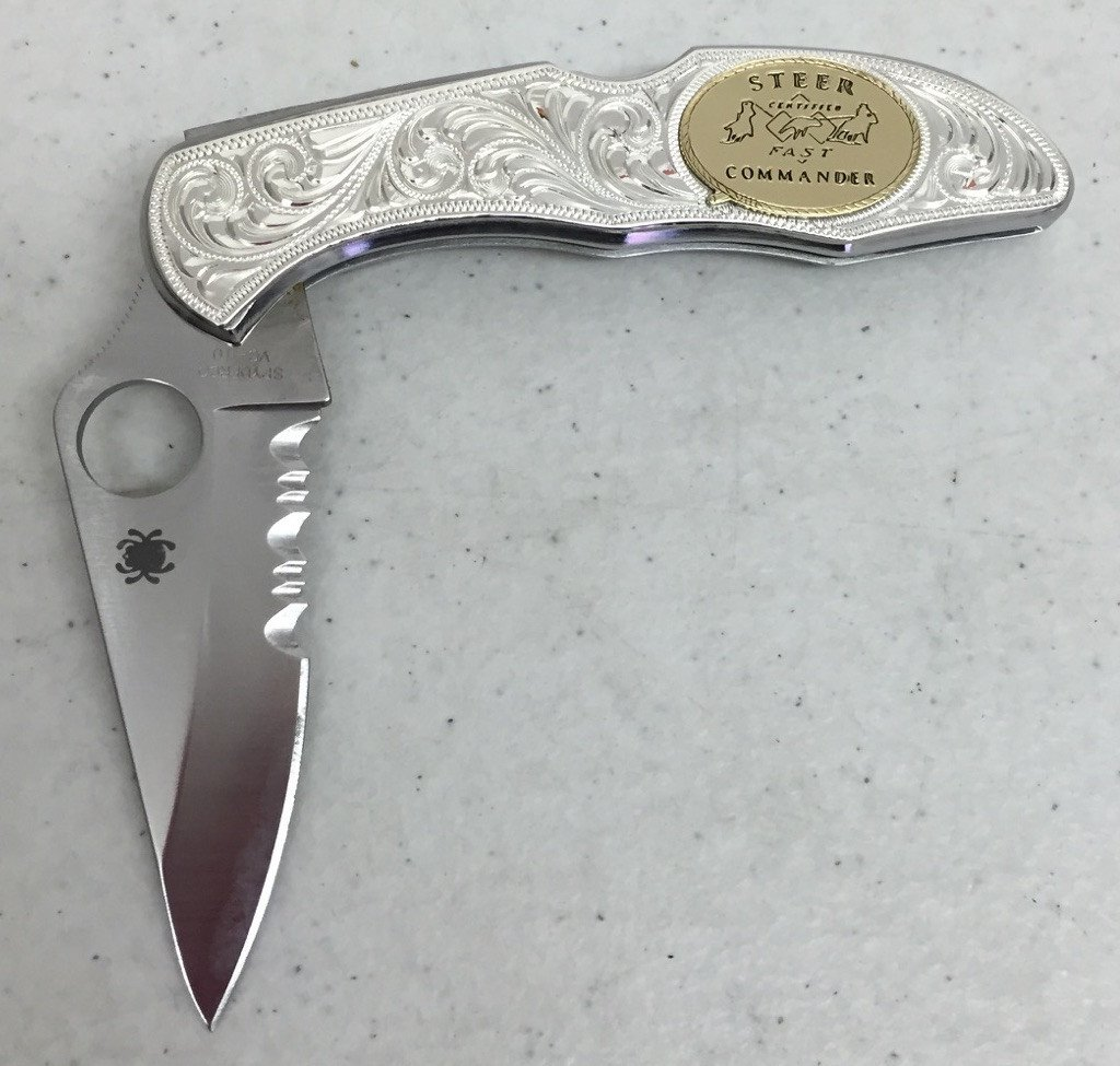 CSK 110 Spiderco Knife