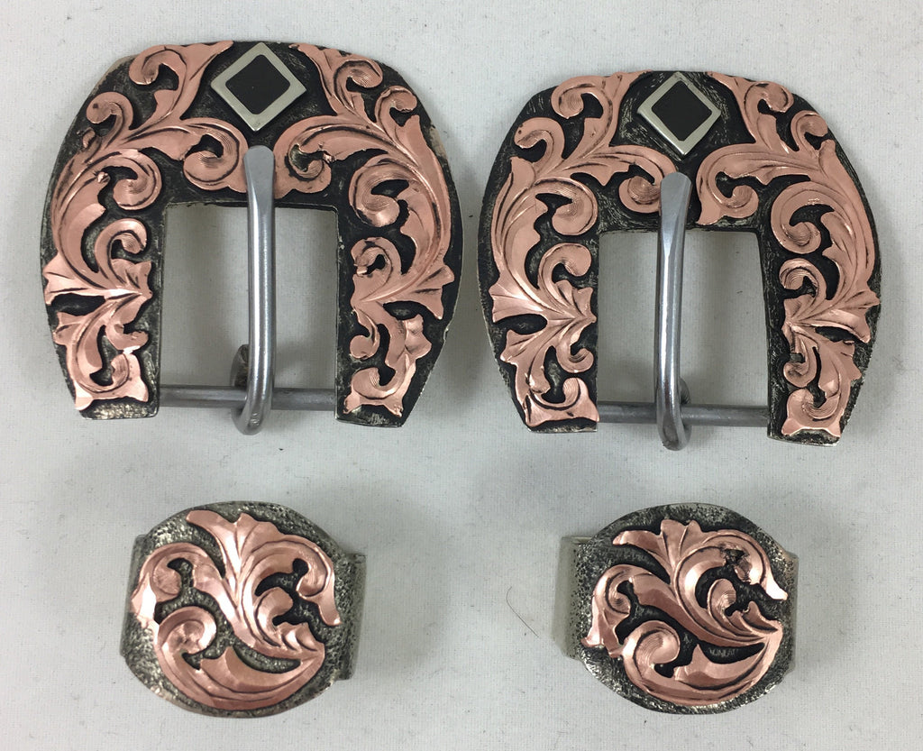 CSHB 101 Copper Headstall Buckles