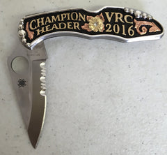 CSK 104 Spiderco Knife
