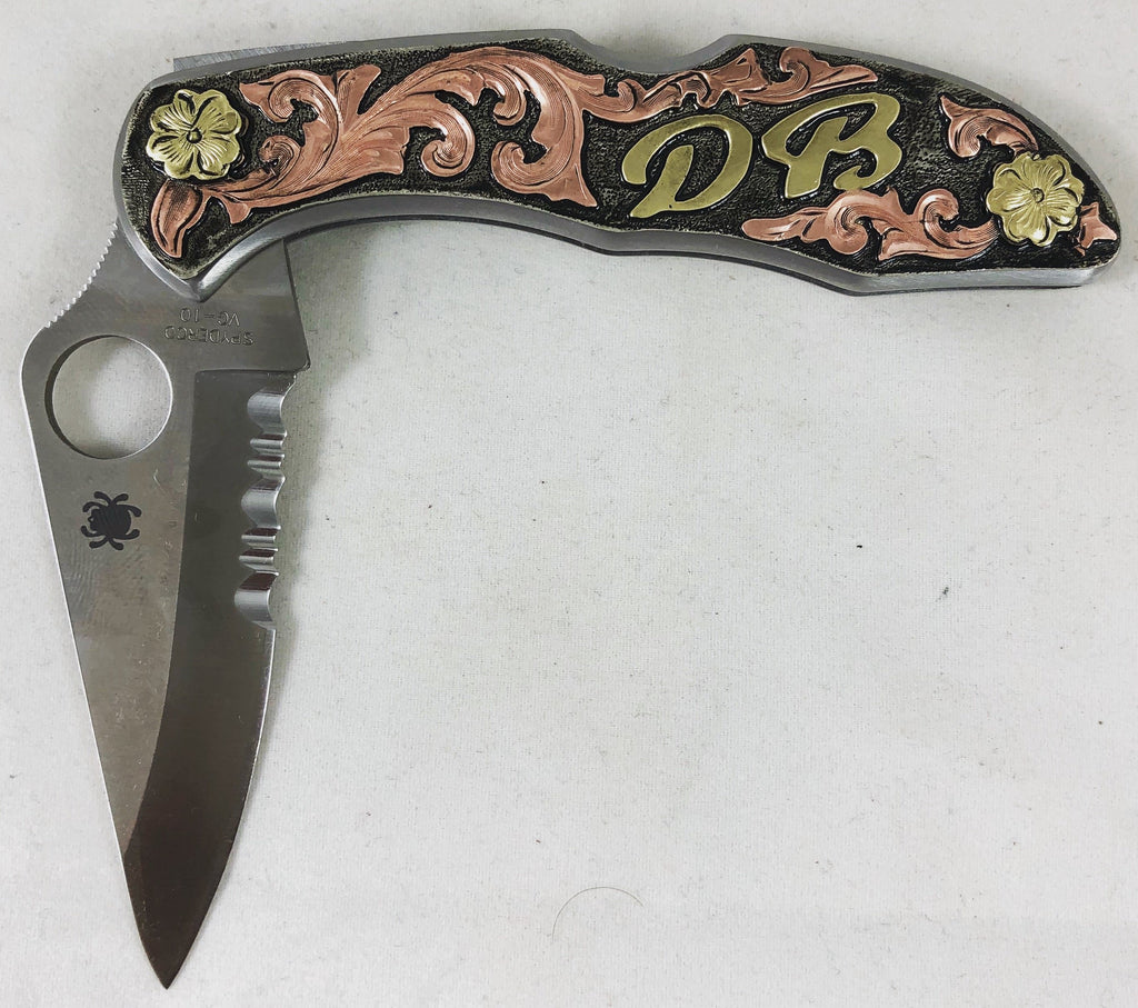 CSK 120 Spiderco Knife