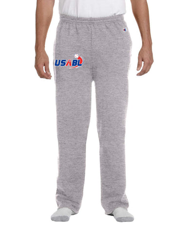 USABL Open-Bottom Fleece Sweat Pant with Pockets