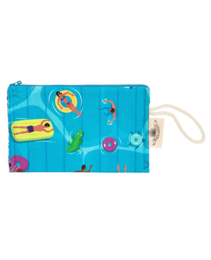 """THE SWIMMERS "" PASSEPARTOUT POUCH"