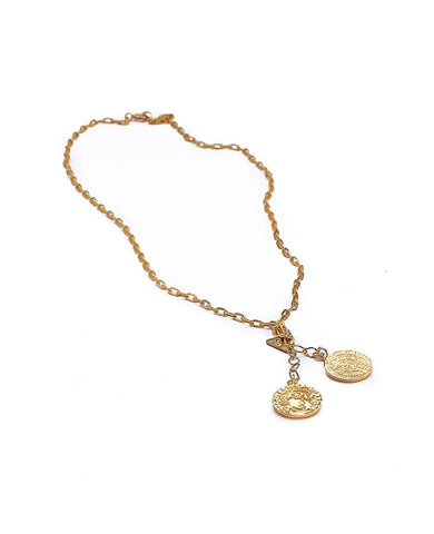 """THE COINS"" NECKLACE"