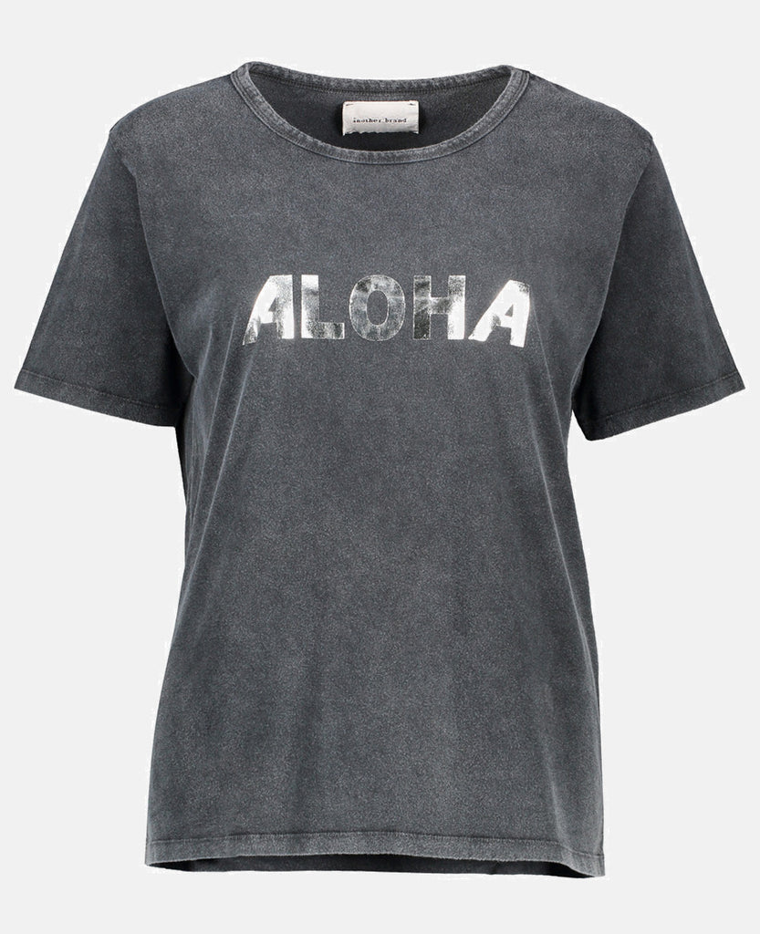 """ALOHA"" T-SHIRT DARK GREY"