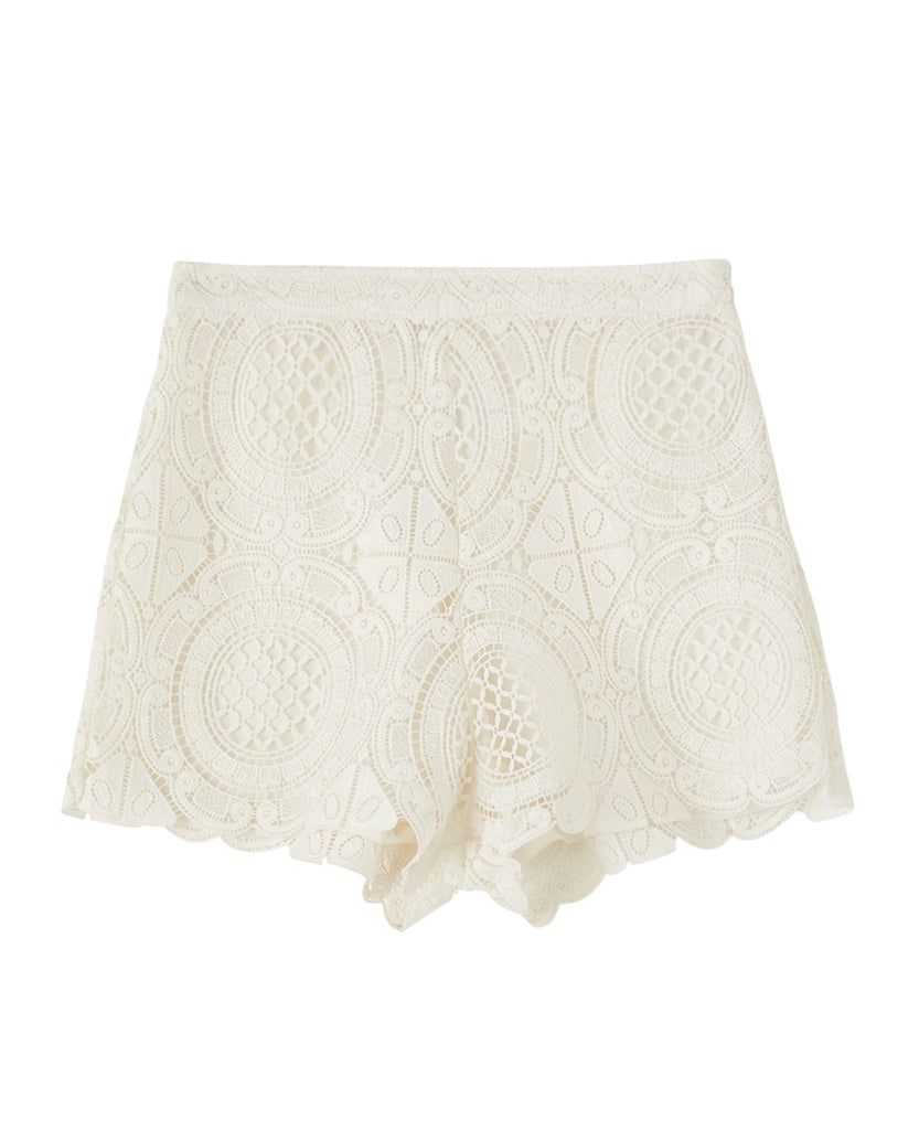 COCO LUXE LACE SHORTS