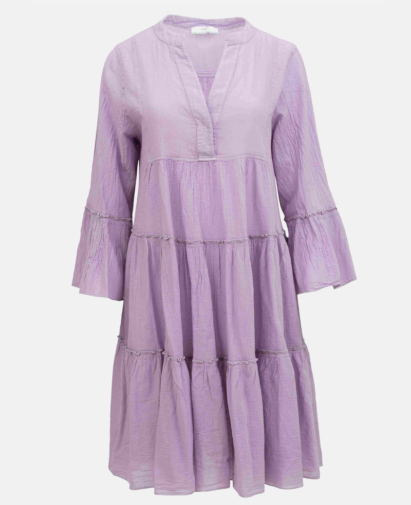 DEVOTION MIDI DRESS UNI LILAC