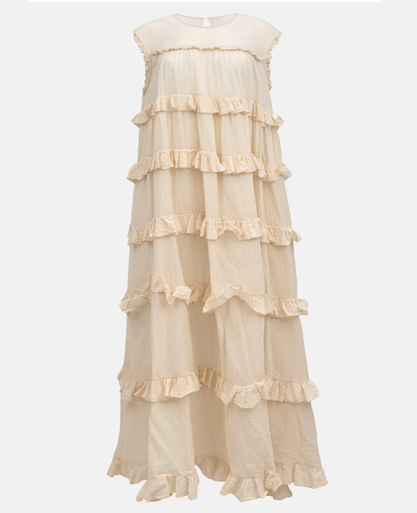 "RUFFLES DRESS ""SEVILLA"""