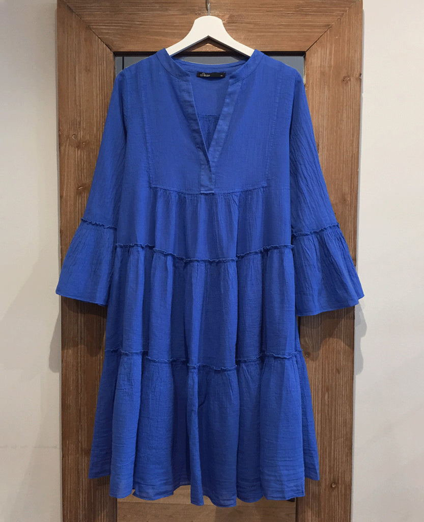 DEVOTION MIDI DRESS UNI COBALT BLUE