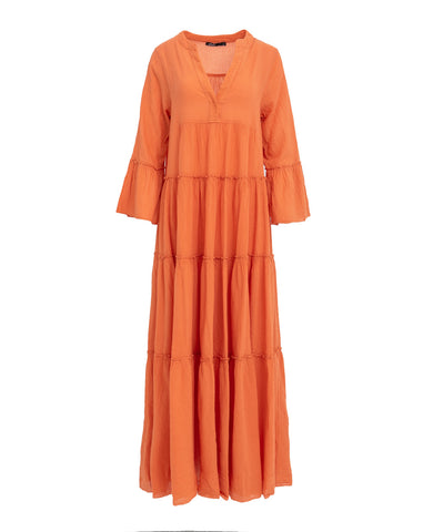 LONG DEVOTION DRESS UNI ORANGE
