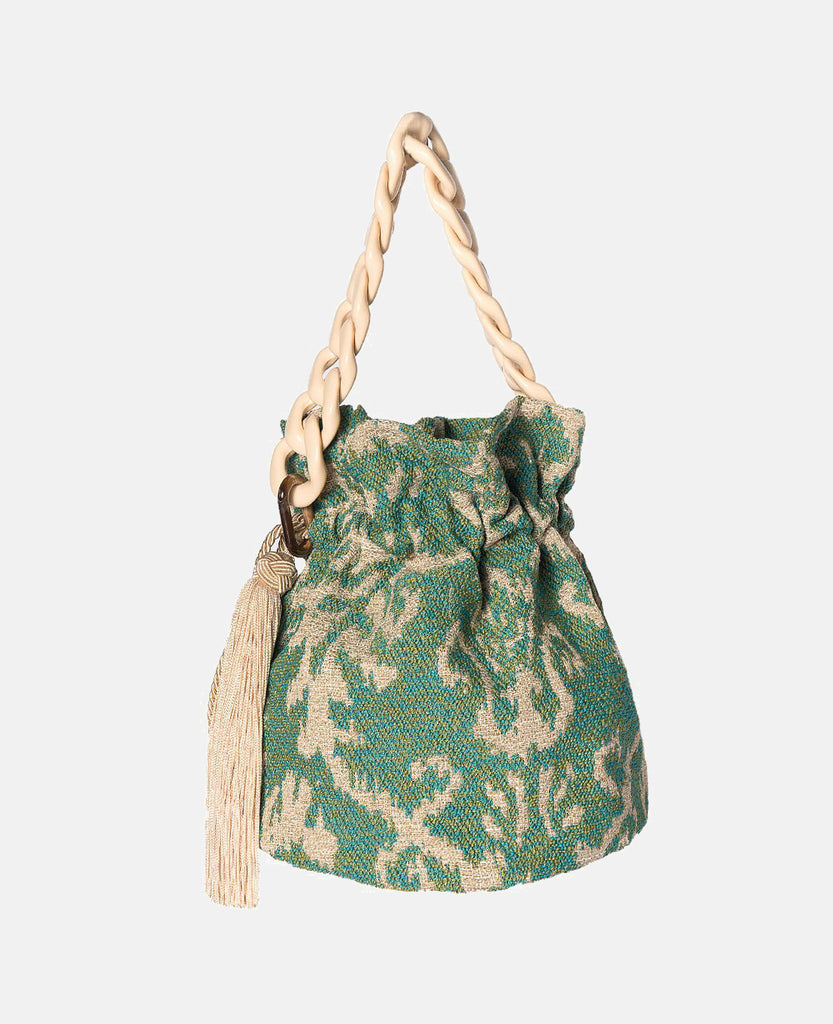 BROCADE BUCKET MINT