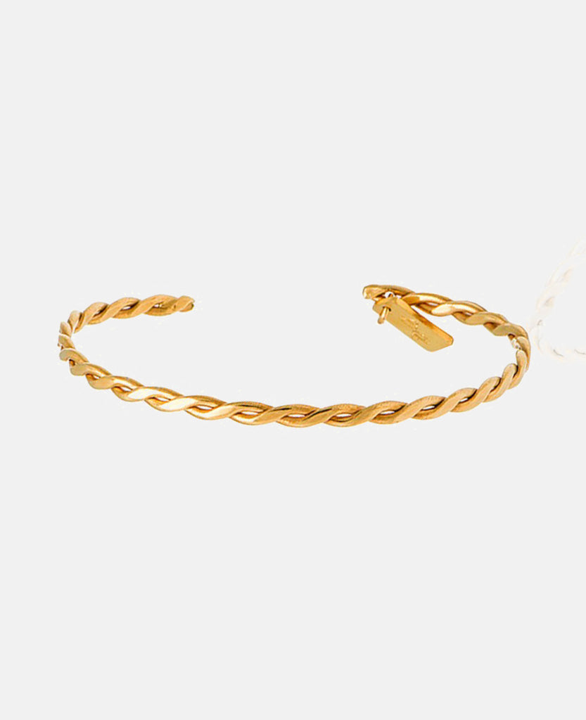"BRACELET ""THE BRAID"" GOLD"