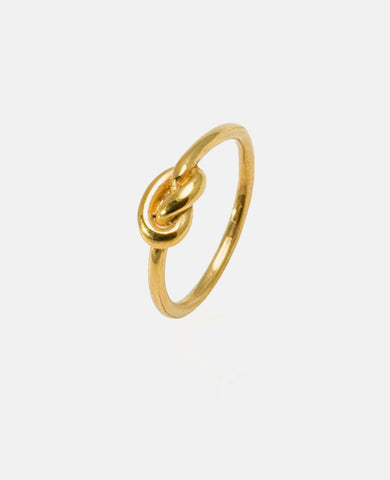 "RING ""KNOTS"" GOLD"