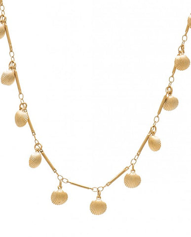 """SHELL DROPS"" NECKLACE"