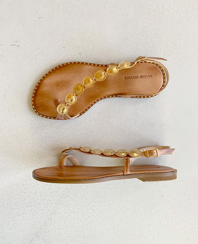 "SANDALS ""ALYSIDA"" NATURAL"