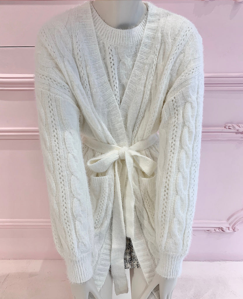 CARDIGAN OFF-WHITE