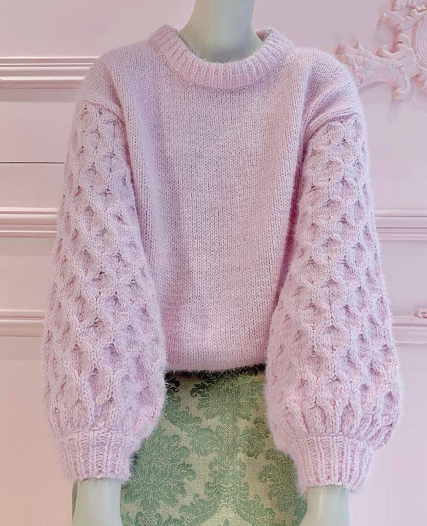 PULLOVER WOVEN MARSHMALLOW PINK