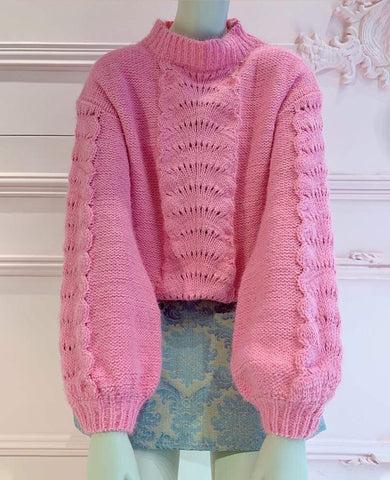 PULLOVER SHELL CANDY PINK