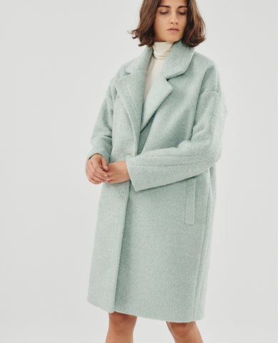 OVERSIZED COAT MINT